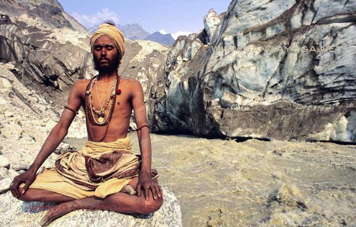 Les sources du Gange